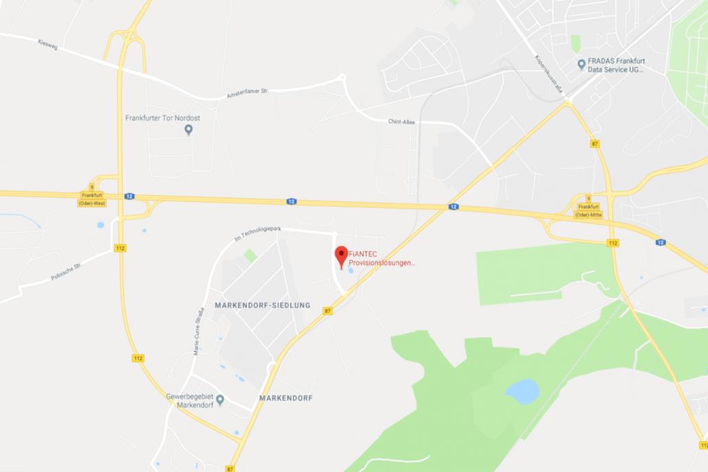 FiANTEC auf Google Maps